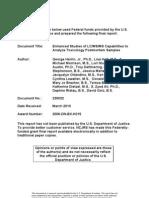 Enhanced Studies of LC MS MS Capabilities to Analyze Toxicology Postmortem Samples