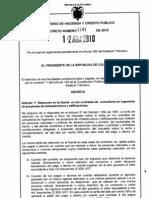 Decreto 1141 de 2010 Retefuente Consultoria en Ingenieria