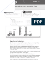 A2 physics Practicals 56873256-Practical-1-Momentum-and-momentum-conservation-–-large-trolleys