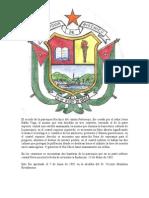 Historia Escudo y Bandera de Riochico