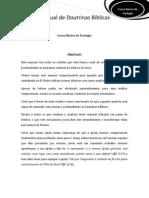 MANUAL DOS ALUNOS - Curso Básico de Teologia