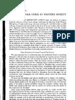 Tobacco in Folk Cures in Western Society