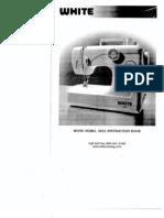 White Sewing Machine Manual