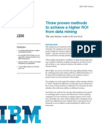 Article - IBM - Achieving a Higher ROI From Data Mining
