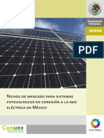 NICHOS DE MERCADO ENERGIA SOLAR MEXICO
