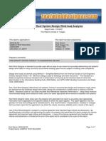 Sample Wind Designer Report