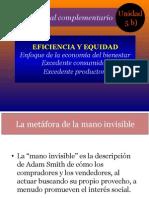 Unidad 5 b) EFICIENCIA DEL MERCADO Y LA INTERVENCIÓN DEL ESTADO