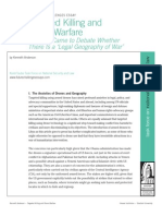 Targeted Killing and Drone Warfare