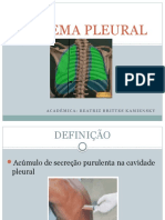 Empiema pleural