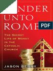 Render Unto Rome by Jason Berry - Excerpt