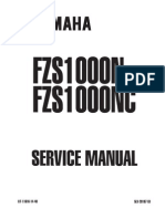 Yamaha Fazer 1000 Service Manual