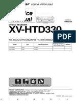 XV HTD330 Dvd CD Receiver