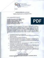Convocatoria No. 111-06-2011