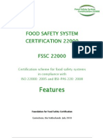 Features Fssc 22000
