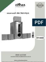 Britânia - Home Theater HT-5000 - Service Manual