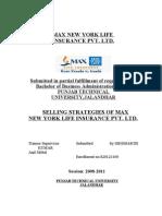Max New York Life Insurance