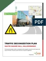 Malleshwaram Mantri Mall Traffic Rerouting Plan