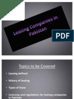 Leasing Companies