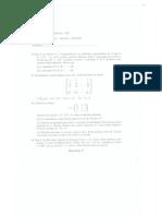 Segunda Prueba de Álgebra Lineal, Maestría UFF - Niteroi, RJ, Brasil