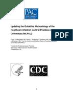 2009-10-29HICPAC_GuidelineMethodsFINAL