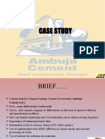 Ambuja Cement Brief