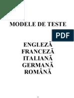 5 Teste ENGLEZA General