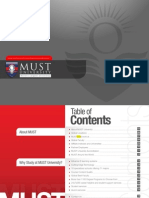 MUST University Brochure