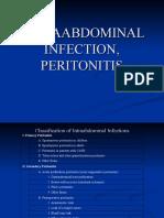 Intraabdominal Infection, Peritonitis