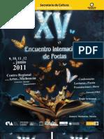 PROGRAMA XV ENCUENTRO ZAMORA 2011
