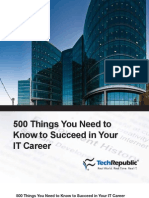 500 Things You Need to Know to Succeed in Your IT Career