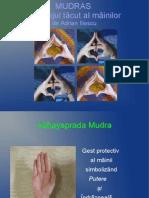 MUDRAS - LIMBAJUL TĂCUT AL MÂINILOR de Adrian Iliescu