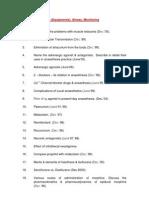 D.N.B. Question Paper