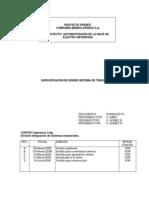 CS5025-ED-01-0 Especificación de Diseño Sistema de Trazabilidad