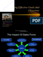 Setting Effective Goal and Objective