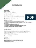Proiect de Lectie.doc Cultura Civica