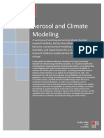 Aerosol and Climate Modeling- BHallier (NASA)