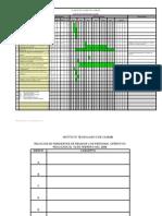CRONOGRAMA DE ACTIVIDADES PROYECTO ACADÉMICO
