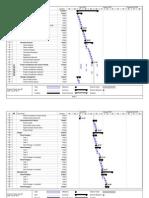 Projecto tipo - Cronograma