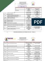 Programación mensual de actividades 10-11