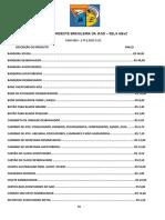 Lista de Materiais Loja Sels