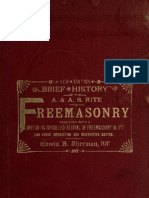 Brief History of the a a s Rite Freemasonry - e Sherman