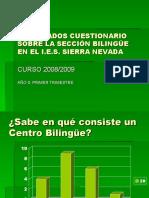 cuestionario bilingue