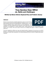 E Tree Over MPLS Ethernet Academy v3