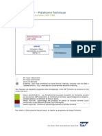 Administration SAP CRM