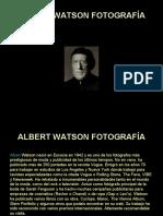 ALBERT WATSON FOTOGRAFÍA