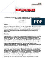 AppNote uMetals Comparison and Examples Iron Powder Cores