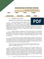 Relatoria de Los Pueblos Indigenas 2005