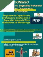 Programa Para Operadores Montacargas