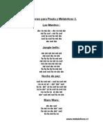 Canciones Para Flauta y fono 2