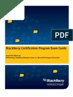 19-00614-123 Blackberry Certification Exam Guide